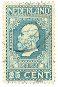 Holland 1913 - NVPH 96 - Stemplet