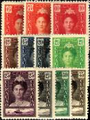 Curacao 1928 - Nr. 89-99 - Ongebruikt