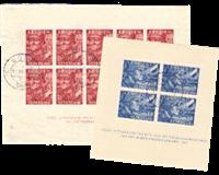 Holland 1942 - NVPH 402b-403b - Stemplet