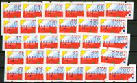 Nederland - Automaatstroken Klussendorf (AU1-AU30,  postfris)