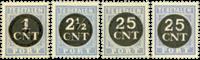 Nederland 1923 - Nr. P61-P64 - Postfris