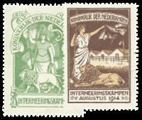 Holland 1916 - NVPH IN1-IN2 - Ubrugt