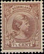 Holland - NVPH 36 - Ubrugt
