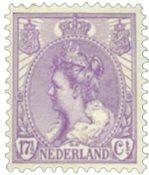 Holland - NVPH 66 - Ubrugt