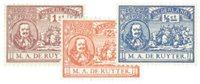 Holland 1907 - NVPH 87-89 - Ubrugt