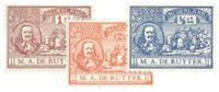 Holland 1907 - NVPH 87-89 - Ubrugt