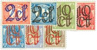 Holland 1923 - NVPH 114-120 - Ubrugt