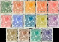 Holland - NVPH 149-162 - Ubrugt