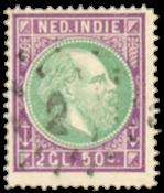 Nederlands Indië 1872 - Nr. 16 - Gebruikt
