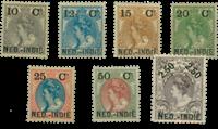 Nederlands Indië 1900 - Nr. 31-37 - Ongebruikt