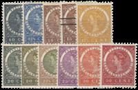 Nederlands Indië 1903-1908 - Nr. 48-57 - Ongebruikt