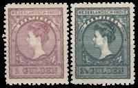 Nederlands Indië 1906-1912 - Nr. 58+59 - Ongebruikt