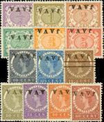 Nederlands Indië - Nr. 63f-78f - Ongebruikt