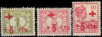 Nederlands Indië 1915 - Nr. 135-137 - Ongebruikt