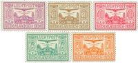 Nederlands Indië 1928 - Nr. LP6-LP10 - Ongebruikt