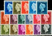 Suriname 1948 - Nr. 257-273 - Postfris