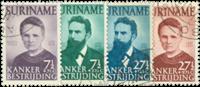Suriname 1950 - Nr. 280-283 - Gebruikt