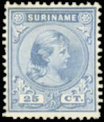 Suriname - Nr. 27 - Ongebruikt