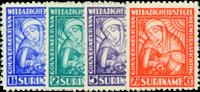Suriname - 1928 - Nr. 137-140 - Ongebruikt