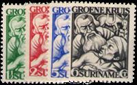 Suriname - Nr. 141-144 - Ongebruikt