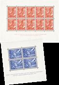 Nederland Legioenblokken 1942 - Nr. 402B-403B - Ongebruikt