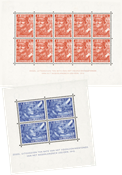 Holland - Legioenblokken 1942 - NVPH 402B-403B - Ubrugt