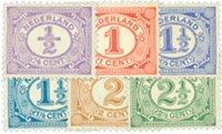 Nederland Cijfer 1899-1913 - Nr. 50-55 - Postfris