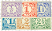 Holland 1899-1913 - NVPH 50-55 - Postfrisk