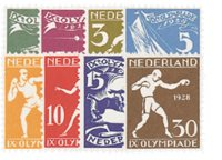 Holland 1928 - NVPH 212-219 - Postfrisk