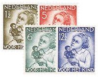 Holland 1934 - NVPH 270-273 - Postfrisk