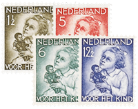 Holland 1934 - NVPH 270-273 - Postfrisk