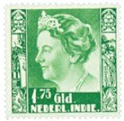 Nederland - 1,75 gulden lichtgroen Koningin Wilhelmina (nr. 209, post