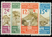 Pays-Bas - 1935 - Nos 217-220 neufs