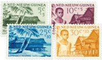 Nederlands Nieuw Guinea - 1957 - Nr. 41-44 - Postfris