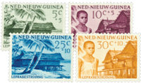 Nederland - Lepra 1957 (nr. 41-44 postfris)