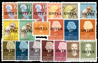 Nederland - UNTEA (nr. 1-19, postfris)