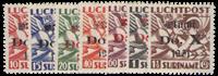 Nederland - Luchtpostzegels DOX (LP 8-14, postfris)