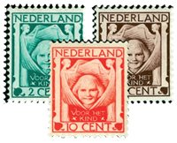 Holland 1924 - NVPH 141-143 - Postfrisk