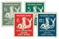Holland 1929 - NVPH 225-28 - Postfrisk