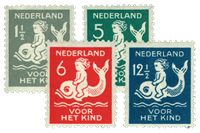 Holland 1929 - NVPH 225-28 - Postfrisk