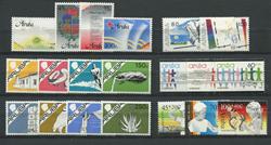 Aruba - Årgang 1986 (nr.1-20 - postfrisk)