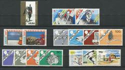 Aruba - Årgang 1987 (nr.21-36 - postfrisk)