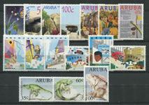 Aruba - Årgang 1993 (nr.118-133 - postfrisk)