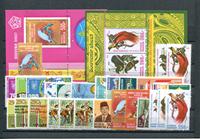 Indonesien - Årgang 1982 (Zb 1102-1136 - postfrisk)