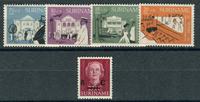 Surinam - Årgang 1958 (nr.326-330 - postfrisk)