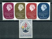 Suriname - Année 1959 - Nos 331-335 - Neuf