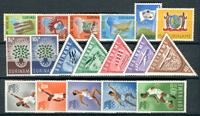 Suriname - Année 1960 - Nos 336-353 - Neuf