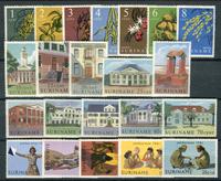Suriname - Année 1961 - Nos 354-375 - Neuf