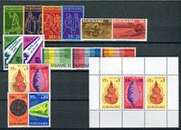 Suriname - jaargang 1975 (nr.638-653, postfris)