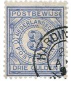 Holland - NVPH PW4 - Stemplet